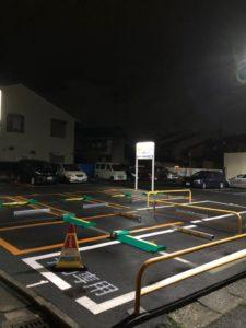 駐車場も近くにあります。