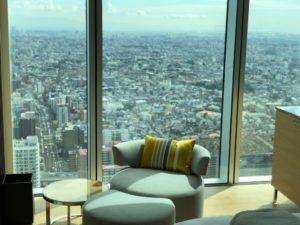 大阪マリオットの客室