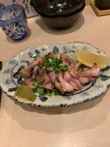 美味しそうなおでんです。博多におります。
