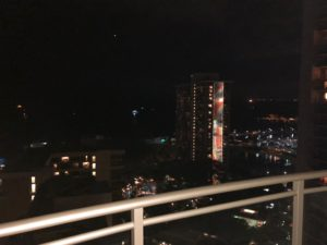 レインボータワーが見えます