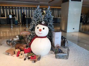 クリスマスの台湾